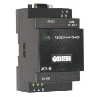 АС3-М преобразователь интерфейсов RS-232 - RS-485 с гальванической изоляцией АС3-М-024