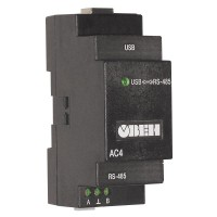 АС4 преобразователь интерфейсов RS-485 - USB c гальванической изоляцией