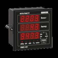 Измерители параметров электрической сети ИНС-Ф1.2.Щ9