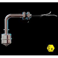 ПДУ-Ex поплавковые датчики уровня во взрывозащищенном исполнении  ПДУ-2.1.2100-ЕХ
