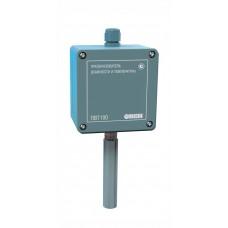 Промышленный датчик (преобразователь) влажности и температуры воздуха ПВТ100