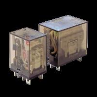 Промежуточные реле KIPPRIBOR серии REP силовые (2- и 4-контактные)