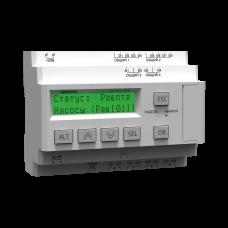 Каскадный контроллер для управления насосами с преобразователем частоты СУНА-122